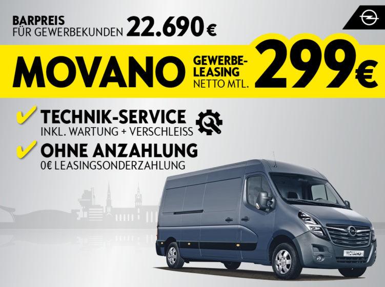 Der Opel Movano
