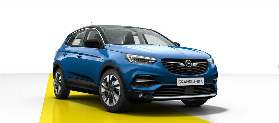 Opel Grandland X 1.2T 96KW