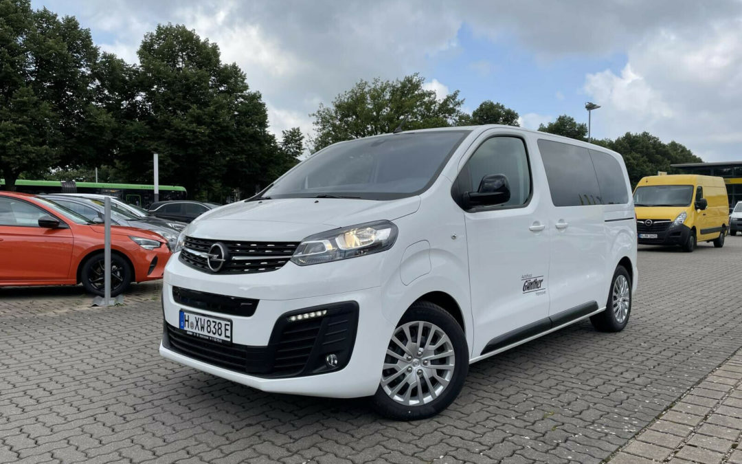 Opel Zafira Life E 50-kWh M Edition