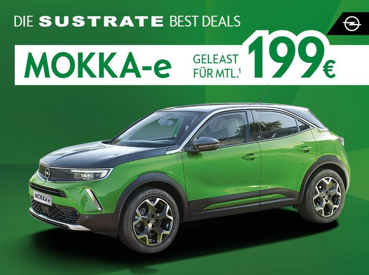 Die Sustrate BEST DEALS: Der Opel Mokka-e